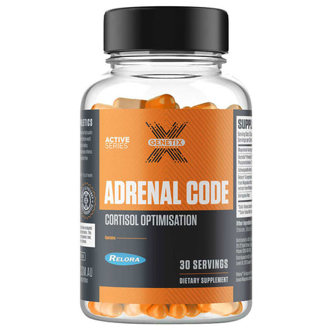 Adrenal Code by Genetix Nutrition Active Series