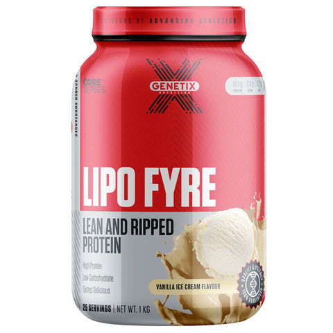 Lipo Fyre By Genetix Nutrition