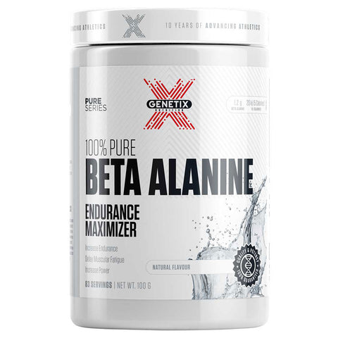 100% Pure Beta Alanine by Genetix Nutrition Essentials