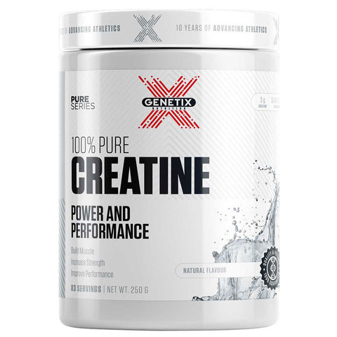 100% Pure Creatine by Genetix Nutrition Essentials - 250g