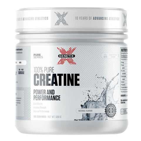 100% Pure Creatine by Genetix Nutrition Essentials - 500g