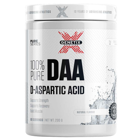 100% Pure D-Aspartic Acid By Genetix Nutrition Essentials