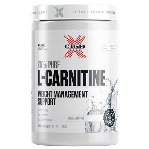 100% Pure L-Carnitine by Genetix Nutrition Essentials