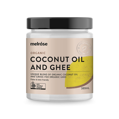 Melrose Organic Coconut and Ghee Oil 380ml