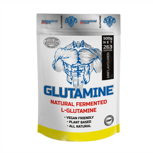 Glutamine Powder 500g by International Protein