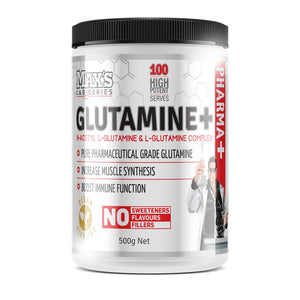 Glutamine Plus 500g (NAGG Glutamine Blend) by Maxs Lab Series