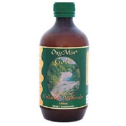 Gold Colloidal Minerals 500ml by OxyMin