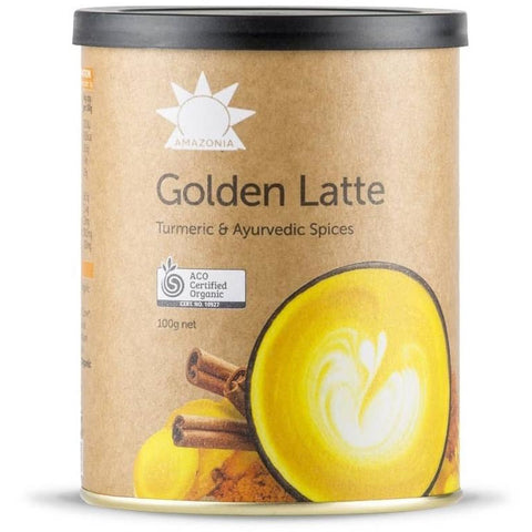 Amazonia Golden Latte Drink 100g