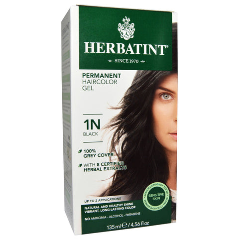 Image of Herbatint Naturals 1N Black by Herbatint