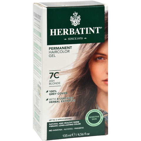 Image of Herbatint Naturals 7C Ash Blonde by Herbatint