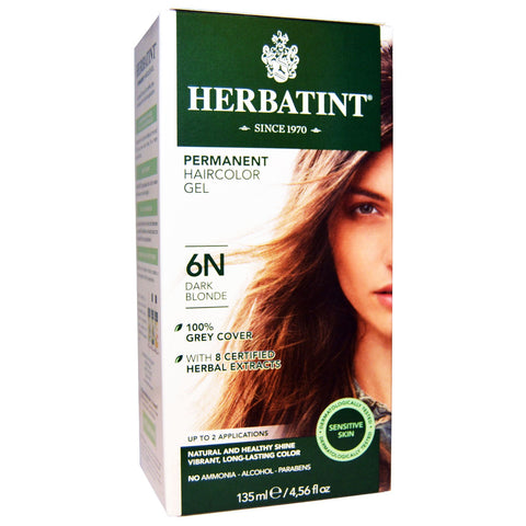 Image of Herbatint Naturals 6N Dark Blonde by Herbatint