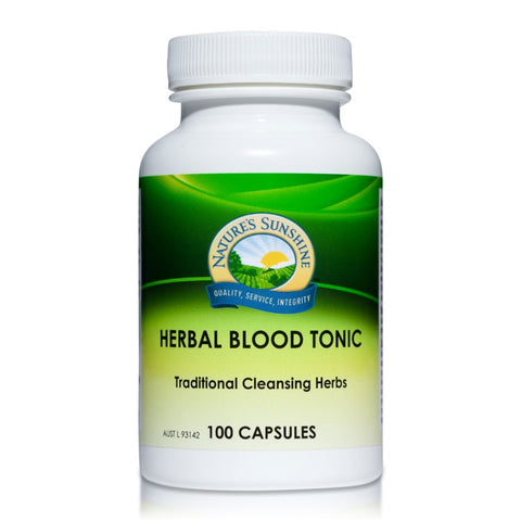 Herbal Blood Tonic (BP-X) 445mg 100 Capsules by Natures Sunshine