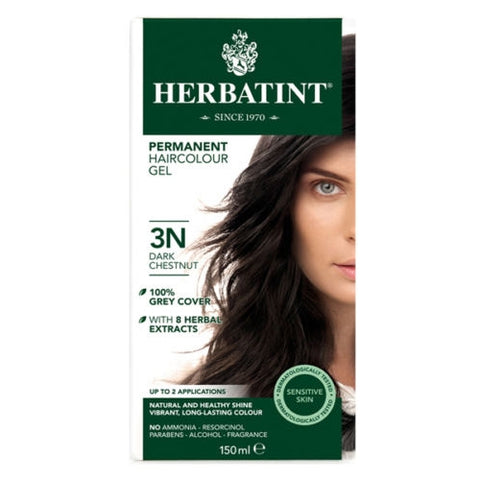 Image of Herbatint Naturals 3N Dark Chestnut by Herbatint