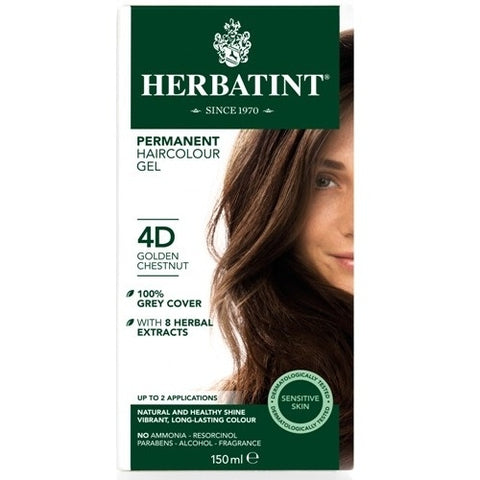 Image of Herbatint Naturals 4D Golden Chestnut by Herbatint