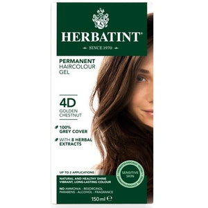 Herbatint Naturals 4D Golden Chestnut by Herbatint