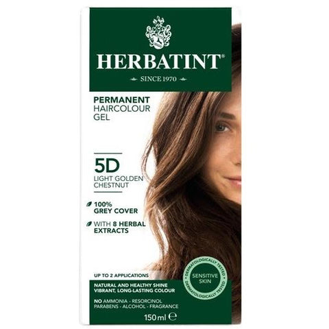 Image of Herbatint Naturals 5D Light Golden Chestnut by Herbatint