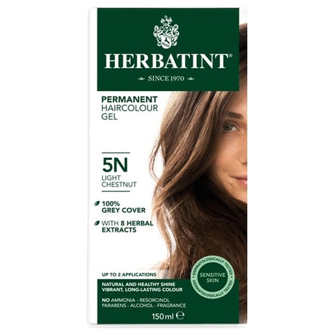 Image of Herbatint Naturals 5N Light Chestnut by Herbatint