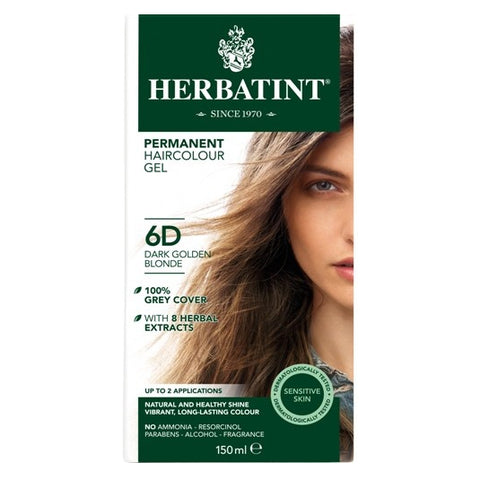 Image of Herbatint Naturals 6D Dark Golden Blonde by Herbatint