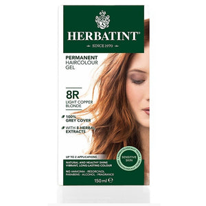 Herbatint Naturals 8R Light Copper Blonde by Herbatint