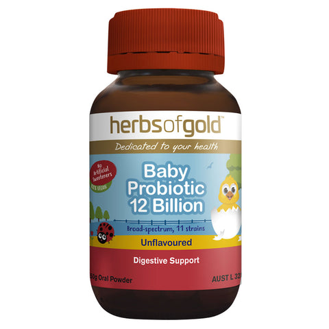 Baby Probiotic 12 Billion by Herbs of Gold