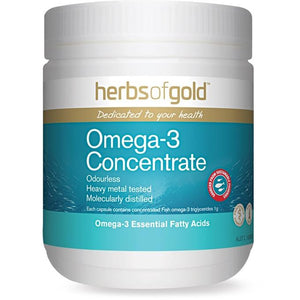 Omega 3 Concentrate 100 Capsules by Herbs of Gold