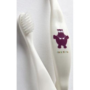Bio Toothbrush Compostable & Biodegradable Handle HIPPO by Jack N Jill