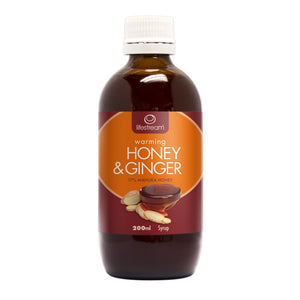 Honey and Ginger Syrup 200ml by Lifestream