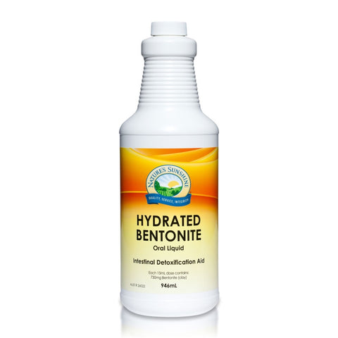 Hydrated Bentonite 946ml by Natures Sunshine