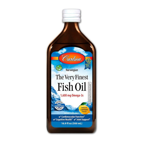 Image of Fish Oil Omega 3 DHA & EPA 500ml by Carlson