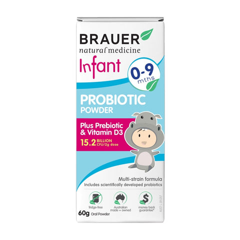 Brauer Infant Probiotic Powder 60g