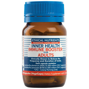 Inner Health Immune Booster for Adults 30 Capsules by Ethical Nutrients