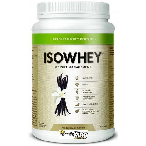 Image of Isowhey (Iso Whey) Weight Management 1.28kg by IsoWhey