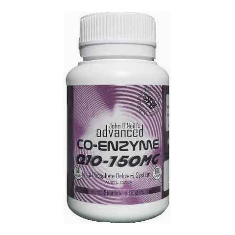 Co-Enzyme Q10 150mg by John ONeills Advanced Life