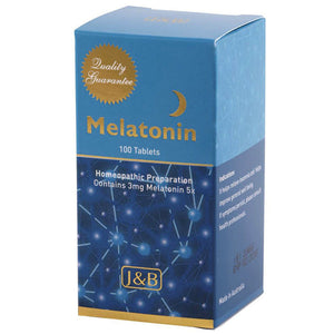 Melatonin Tablets by Johnson & Barana (J&B)