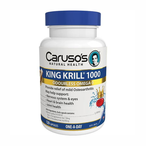 Image of King Krill 1000 by Carusos Natural Health