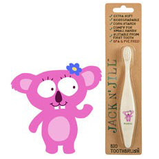 Bio Toothbrush Compostable & Biodegradable Handle KOALA by Jack N Jill