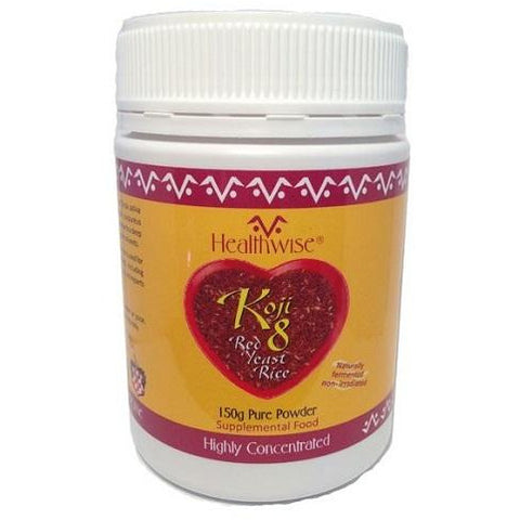 Koji8 Red Yeast Rice Extract 150g by HealthWise