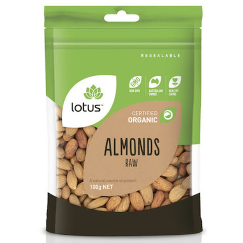 Lotus Raw Almonds Organic