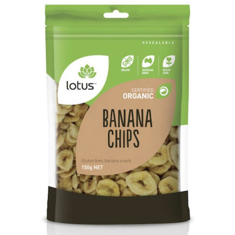 Lotus Banana Chips Organic