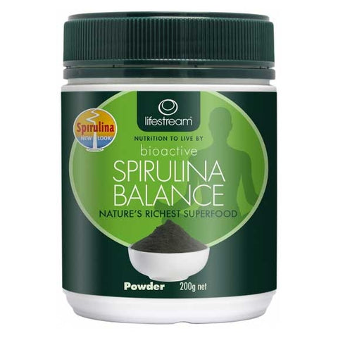 Image of Spirulina Balance Powder Pure 200g by Lifestream