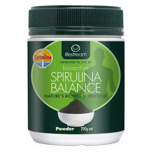 Spirulina Balance Powder Pure 200g by Lifestream