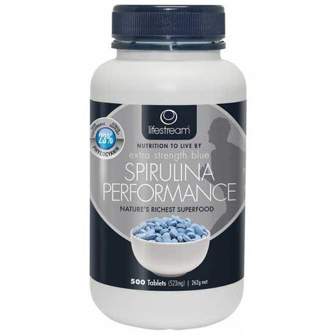 Image of Spirulina Blue 500 Tablets by LifeStream