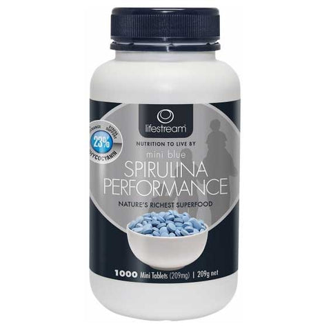 Image of Spirulina Blue Mini 1000 Tablets by LifeStream