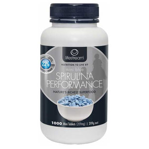 Spirulina Blue Mini 1000 Tablets by LifeStream