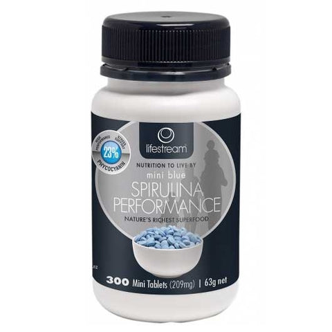Image of Spirulina Blue Mini 300 Tablets by LifeStream