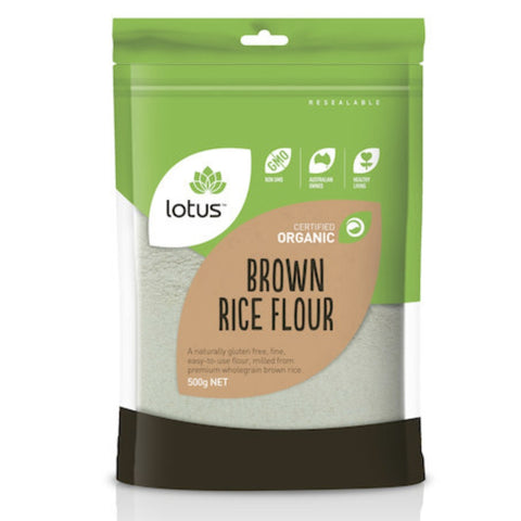Lotus Brown Rice Flour Organic
