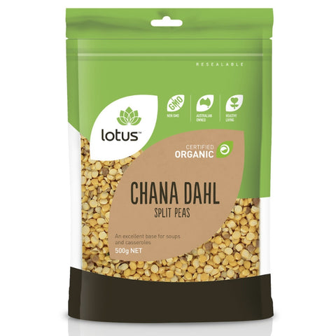 Lotus Chana Dahl (Split Peas) Organic