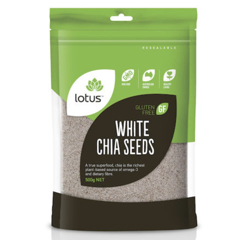 Lotus Chia Seeds White
