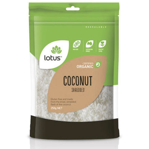 Lotus Shredded Coconut Organic