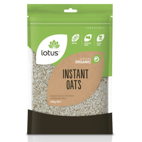 Lotus Oats Instant Organic